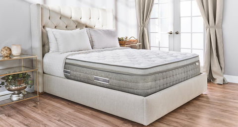 medium-firm mattress made with CertiPur-US certified gel memory foam