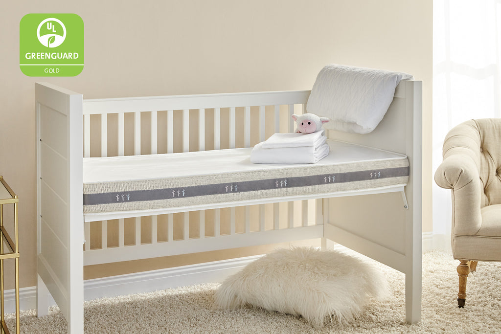 Wildfern 2-Stage Natural Crib Mattress