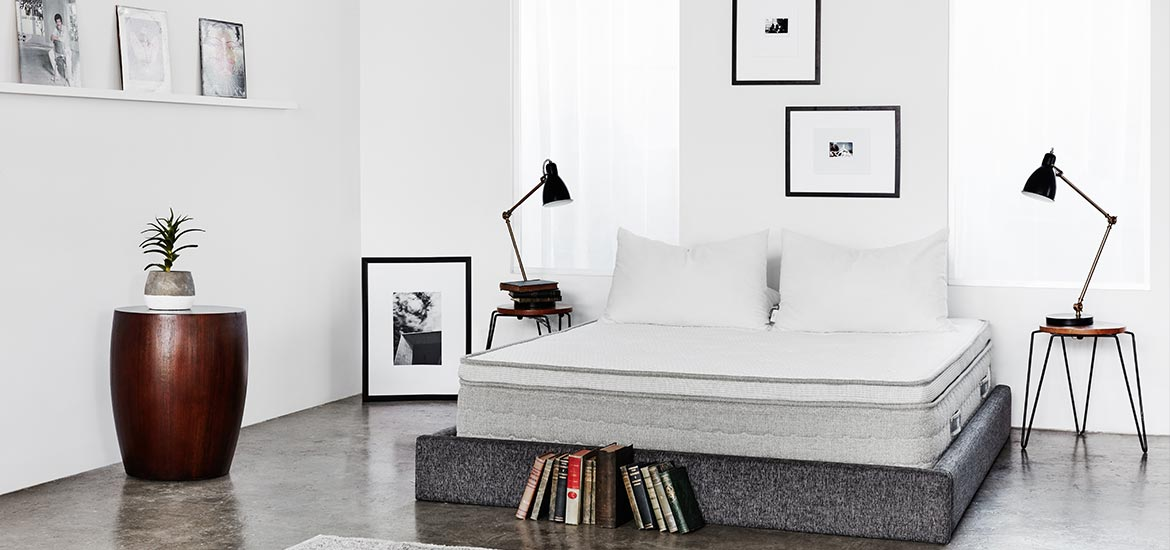 the palmetto mattress by brentwood home is from their natural latex line and comes compressed - Brentwood Mattress