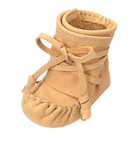 Children's Deer Tan Booties