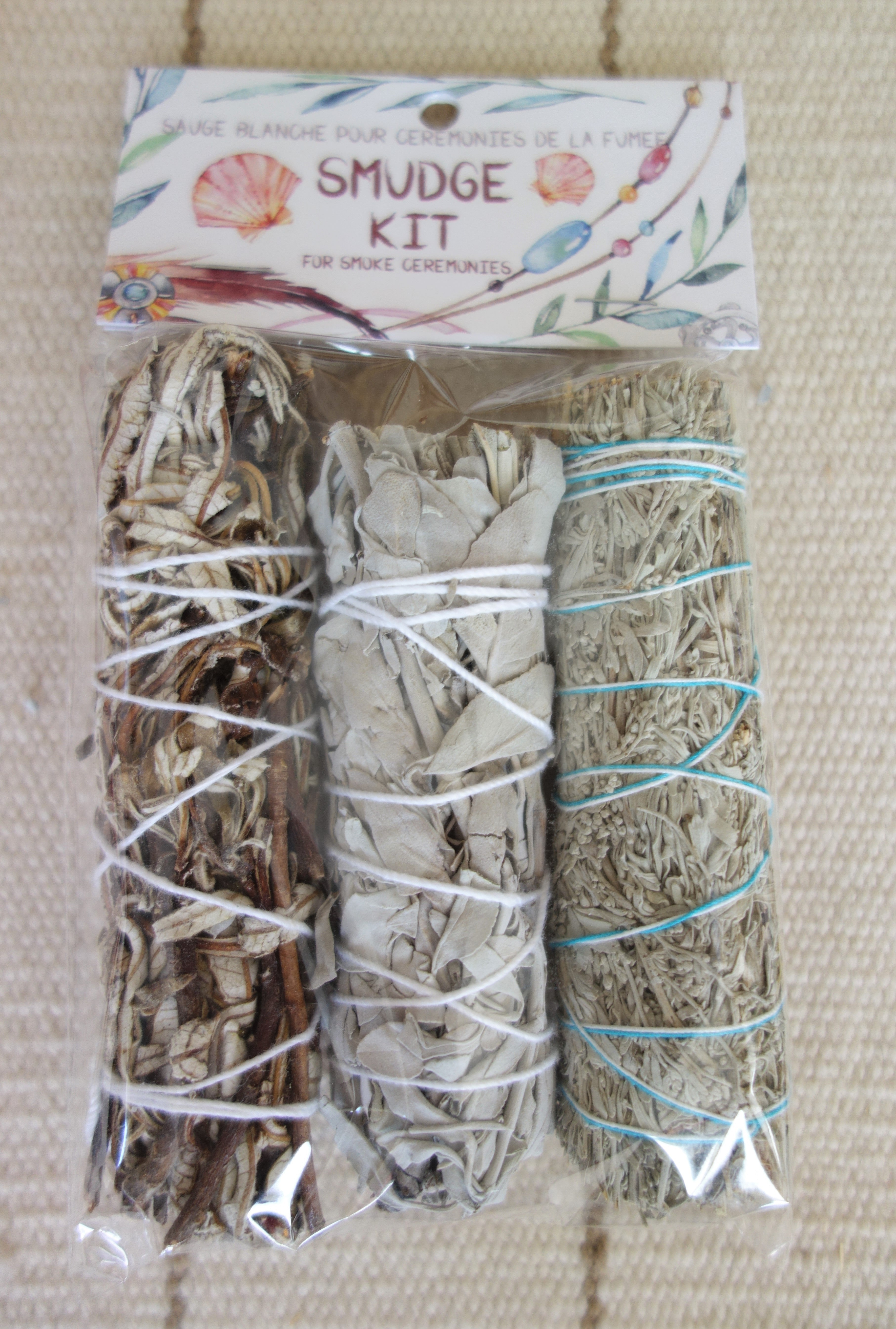 Assorted Sage Smudge Kit