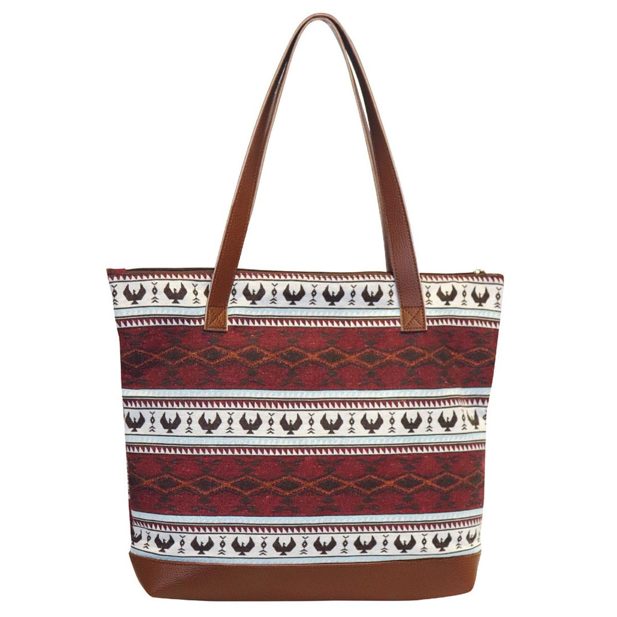 Woven Tote Bag - by Leila Stogan