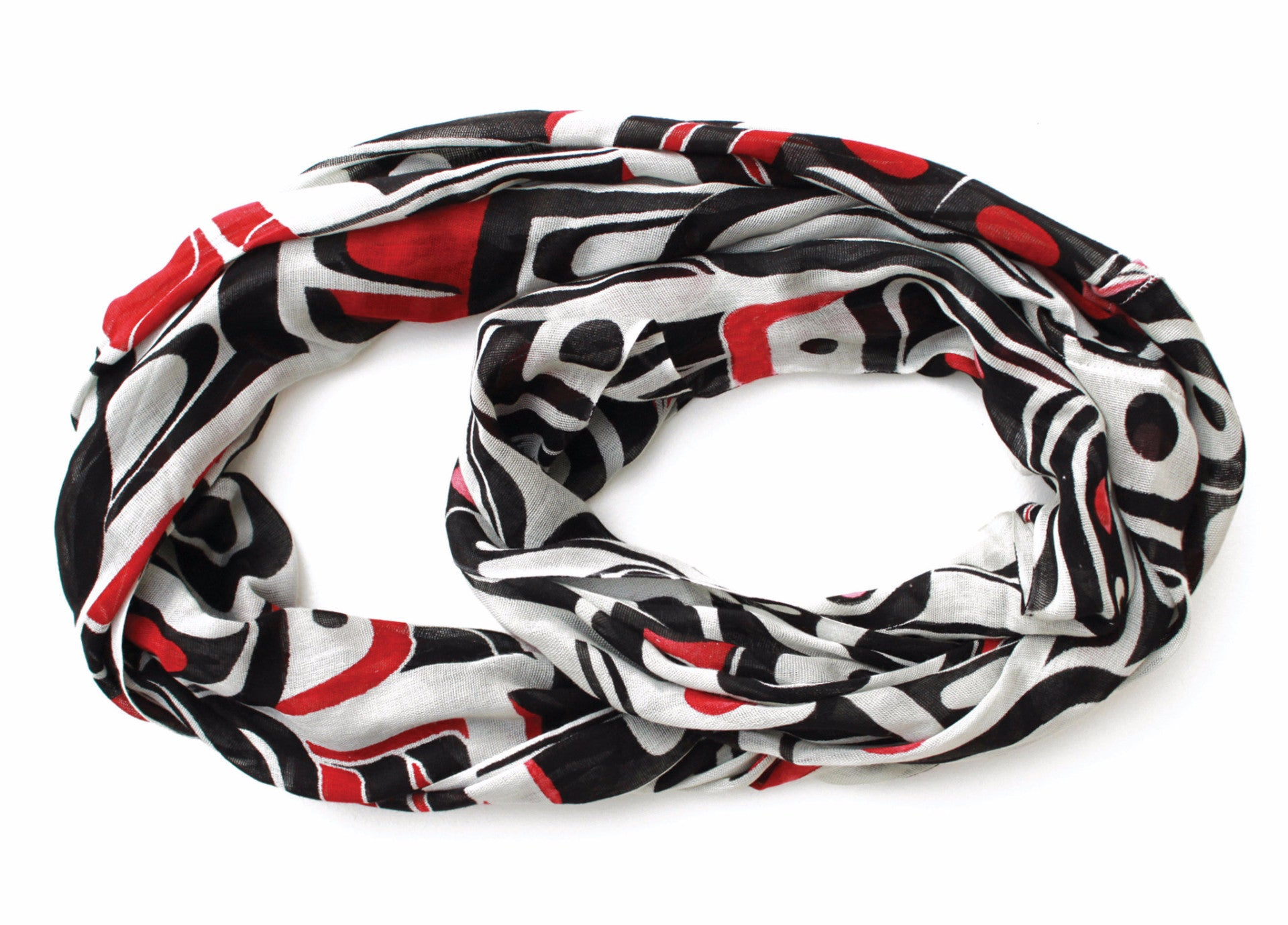 Circle Scarf - Thunderbird