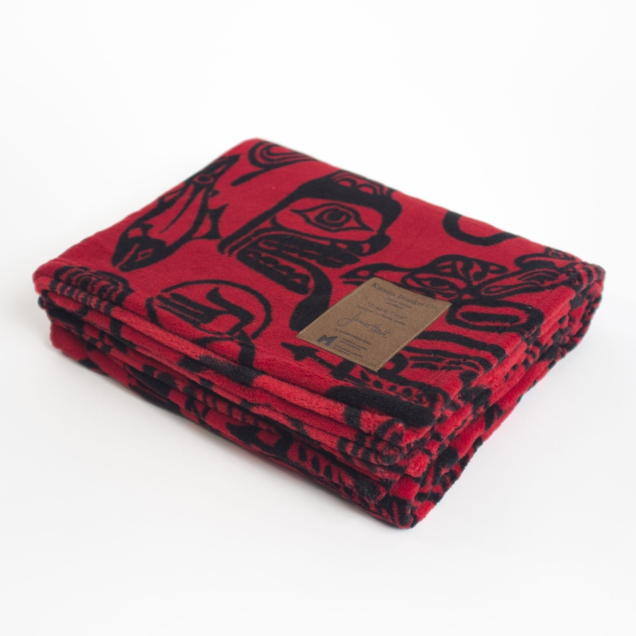 "Haida ""Dreamtime"" Velura Throw"