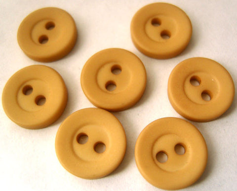 B0353 12mm Sand Matt 2 Hole Button - Ribbonmoon
