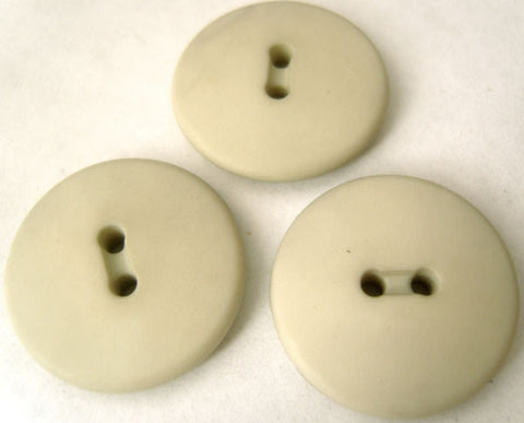 B0929 22mm Pale Grey Matt 2 Hole Button - Ribbonmoon