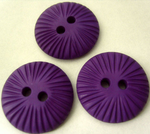 B2833 23mm Cadbury Purple Textured Matt 2 Hole Button - Ribbonmoon