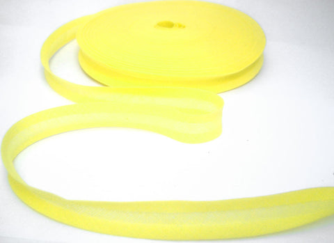 BB226 16mm Lemon 100% Cotton Bias Binding Tape