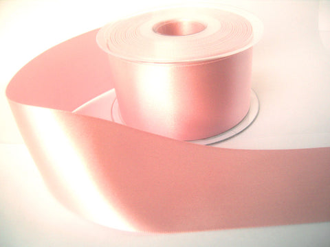 R3819 35mm Azalea Pink Double Face Satin Ribbon by Berisfords