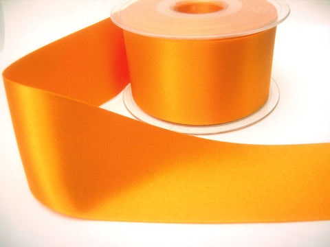 R3776 50mm Marigold Double Face Satin Ribbon by Berisfords