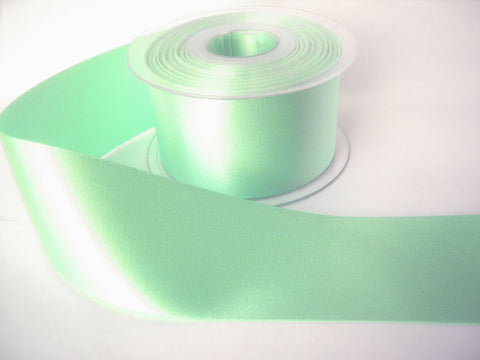R3647 35mm Aqua Double Face Satin Ribbon by Berisfords