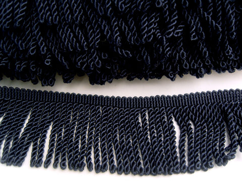 FT2224 62mm Rich Navy Bullion Fringe
