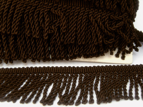 FT3119 55mm Brown Bullion Fringe