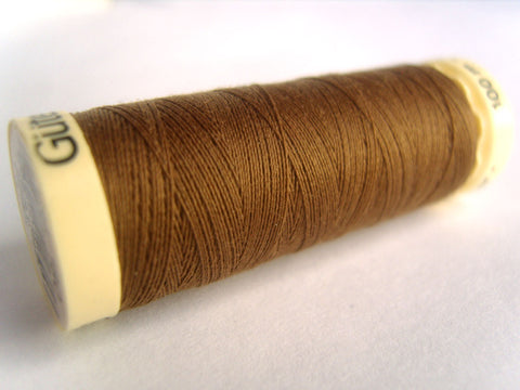 GT 180L Pale Brown Gutermann Polyester Sew All Thread