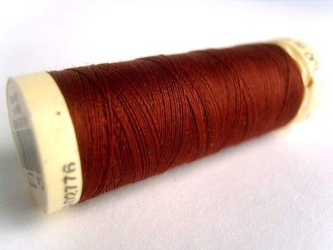 GT 227L Rich Rust Brown Gutermann Polyester Sew All Sewing Thread