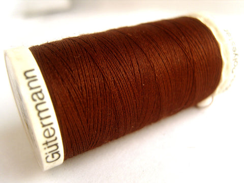 GT 230 250mtr Chocolate Brown Gutermann Polyester Sew All Thread