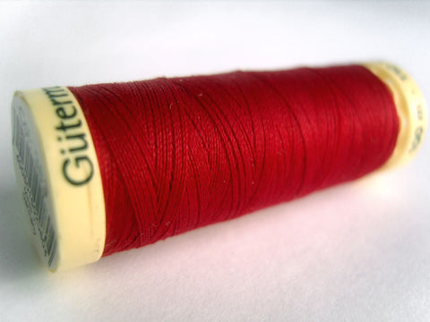 GT 383L Cardinal Red Gutermann Polyester Sew All Sewing Thread