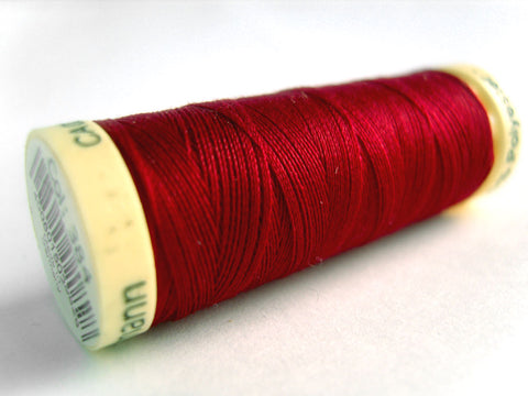GT 384 Ruby Red Gutermann Polyester Sew All Sewing Thread