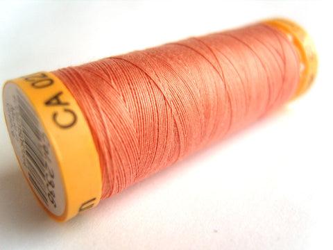 GTC 2336 Apricot Pink Gutermann 100% Cotton Sewing Thread