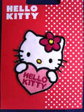 M449 Hello Kitty Iron or Sew on Motif Applique