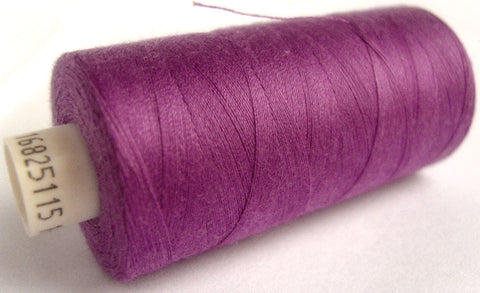 MOON 092 Light Purple Coates Sewing Thread,Spun Polyester 1000 Yard Spool, 120's