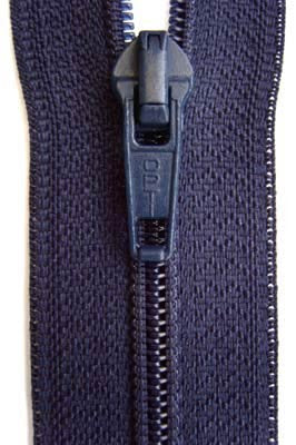 Z5285 81cm Navy Optilon Nylon No.5 Open End Zip