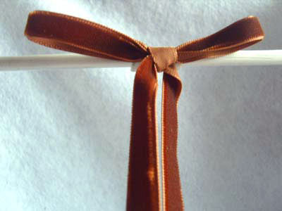 R4189 10mm Hot Chocolate Brown Nylon Velvet Ribbon - Ribbonmoon