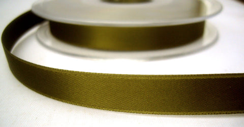 R7974 11mm Sage Green Double Face Satin Ribbon