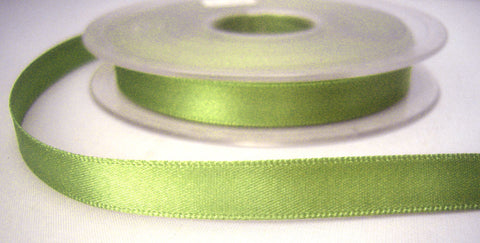 R2705 5mm Pale Khaki Green Double Faced Satin Ribbon by Berisfords