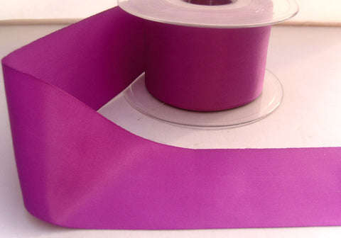 R8293 50mm Pale Purple Polyester Soft Touch Taffeta Ribbon by Berisfords - Ribbonmoon