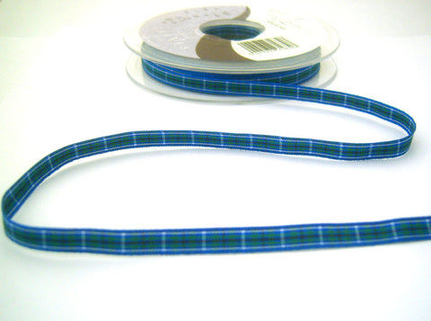 R8508 7mm Douglas Tartan Ribbon by Berisfords