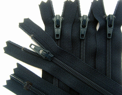 Z3550 YKK 41cm Navy Nylon No.3 Closed End Zip