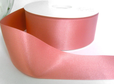 R3058 3mm Dusky Pink Double Face Satin Ribbon by Berisfords