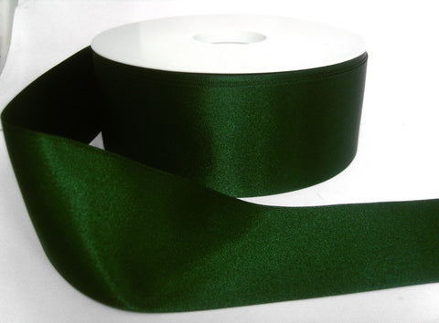 R3191 15mm Forest Green Double Face Satin Ribbon by Berisfords