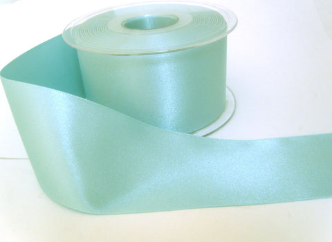 R3673 35mm Saxe Blue Double Face Satin Ribbon by Berisfords