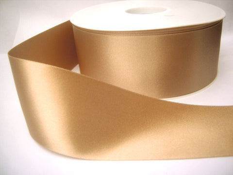R0203 10mm Ecru Double Face Satin Ribbon by Berisfords