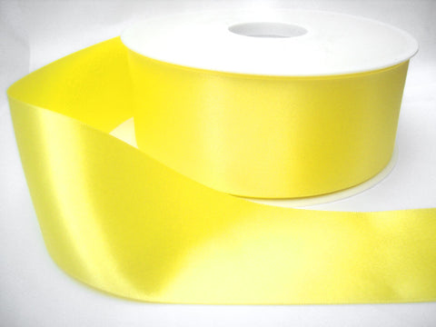 R2630 10mm Lemon Double Face Satin Ribbon by Berisfords