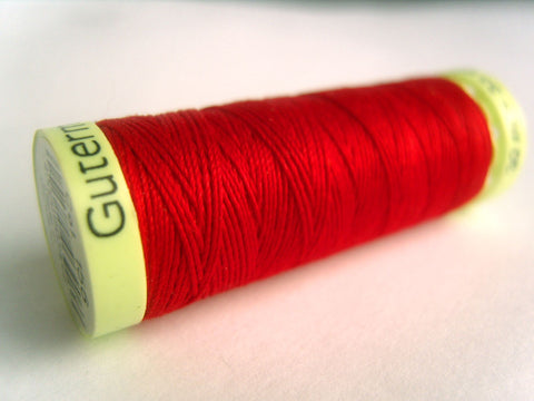 GT 156 Top Stitch Scarlet Red Gutermann Strong Sewing Thread