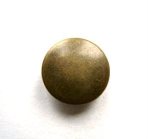 B10029 14mm Bronze Metal Covered Shank Button - Ribbonmoon
