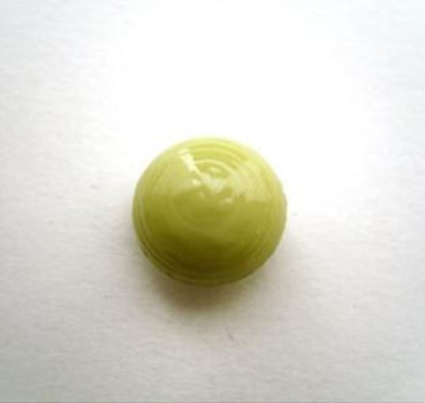 B14276 13mm Pale Appe Green Domed and Lightly Textured Shank Button - Ribbonmoon