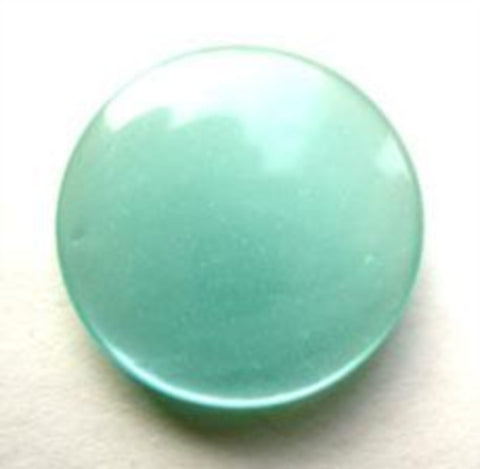 B11704 20mm New Turquoise Polyester Shank Button - Ribbonmoon