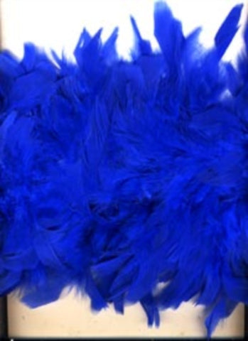 Feather Boa Royal Blue Approx 1.7 metres Long - Ribbonmoon