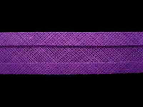 BB167 13mm Violet 100% Cotton Bias Binding - Ribbonmoon