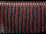FT1664 185mm Blues,Pink,Scarlet Berry and Cream Bullion Fringe - Ribbonmoon