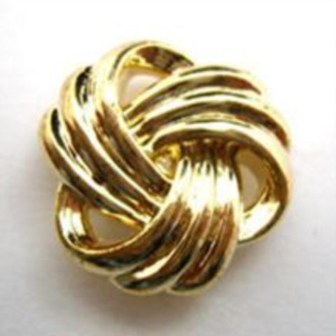 B14599 21mm Gilded Gold Poly Shank Button - Ribbonmoon
