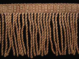 FT794 5cm Dusky Peach Thin Bullion Fringe - Ribbonmoon