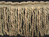 FT1671 14cm Eau De Nil Green and Cream Bullion Fringe - Ribbonmoon