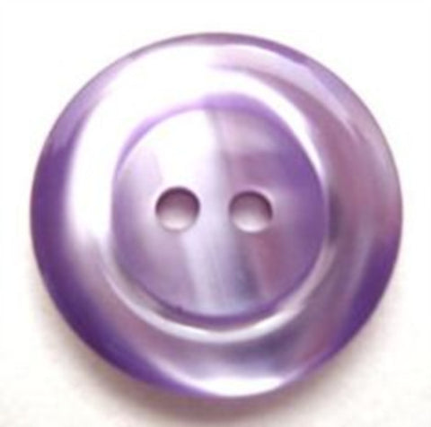 B10494 20mm Dark Orchid Polyester 2 Hole Button - Ribbonmoon