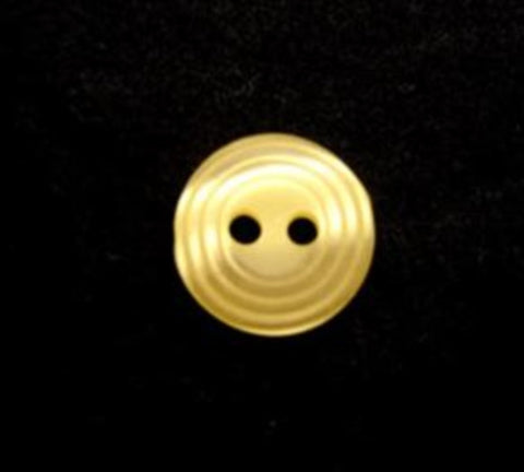 B13248 11mm Lemon 2 Hole Button - Ribbonmoon