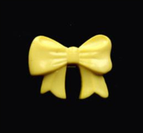 B11583 16mm Primrose Bow Shape Novelty Shank Button - Ribbonmoon